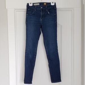 Pilcro Jeans Denim Superscript Skinny Dark Wash